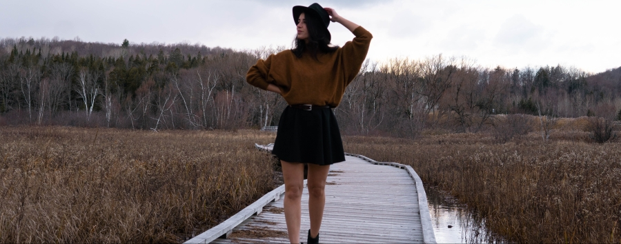 Robe et tricot