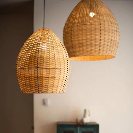 Straw Lamp - Coeur d'artichaut Montréal